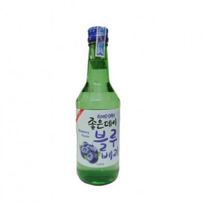 Rượu Soju Good Day Blueberry Flavor (Việt quất) 360ml