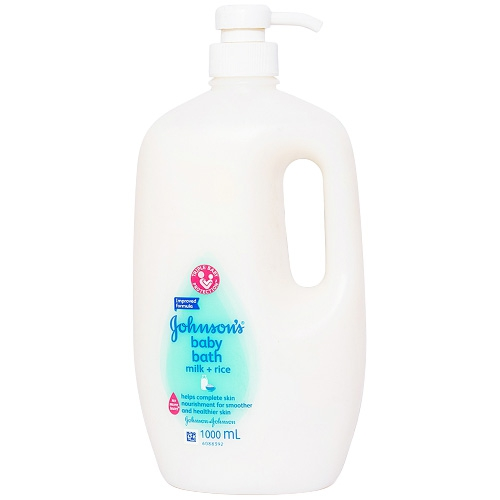 Sữa tắm Johnsons Baby Bath Milk and Rice 1L