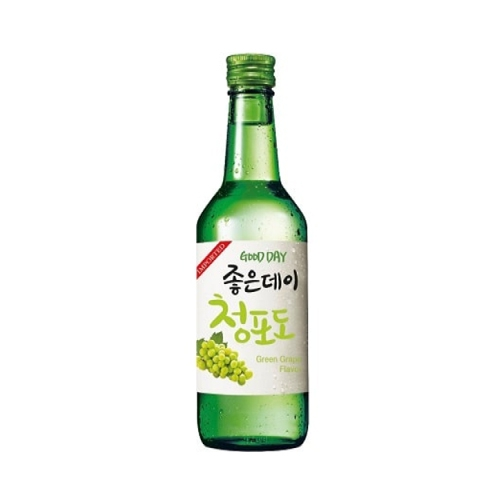 Rượu Soju Goodday Green Grape flavor (nho xanh) 360ml